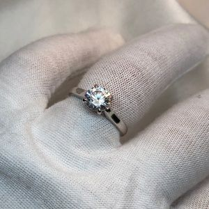 JUST ARRIVED🔥| 925 CZ Catherdral Engagement Ring